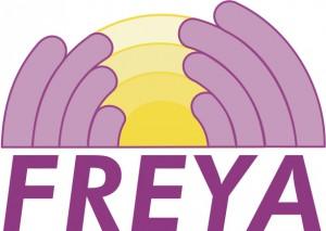 Logo Freya wit