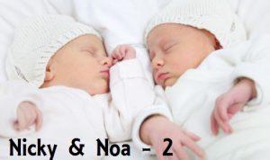 Nicky en Noa - 2 jaar