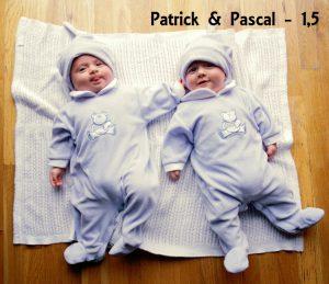 Patrick en Pascal - 1,5 jaar