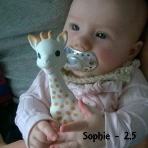 Sophie - 2,5 jaar