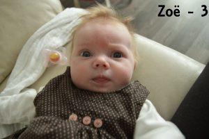 Zoe - 3 jaar